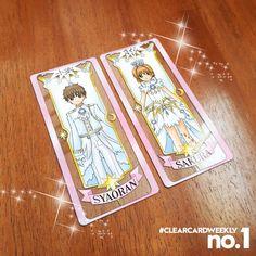 Clear Card Character Cards One Side Printed On 1mm Acrylic Sakura Card Clear Card Cardcaptor Sakura