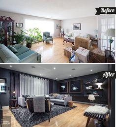 It's always super fun to look back on old projects, so we decided to put together a round up of before and after shots from our St. John's home. We miss this place, even more so when we look back on pics and think about the renovation journey that took us five years to complete!