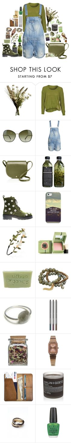 """""""Castelvetrano"""" by grizmosis ❤ liked on Polyvore featuring Abigail Ahern, Tom Ford, ONLY, Tory Burch, AMBRE, Anouki, Casetify, Forever 21, Benefit and Dee Berkley"""