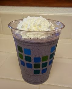 Shelly's Blueberry Muffin Protein Shake