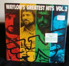 Waylon Jennings Lp Greatest Hits Vol 2 Mint, Sealed