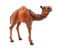 """Статуэтка """"Верблюд"""" - натуральная кожа - Д30хВ30   Westwing Интерьер & Дизайн Camel, Horses, Animals, Animales, Animaux, Camels, Animal, Animais, Horse"""