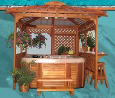 Pergola In Front Yard Product Outdoor Spaces, Indoor Outdoor, Outdoor Living, Jacuzzi Outdoor, Outdoor Kitchens, Galaxy Homes, Tub Enclosures, Hot Tub Gazebo, Gardens