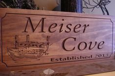 Marina Signs Lake house Personalized Boat by BenchmarkSignsGifts