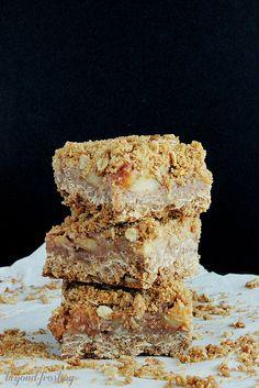 Oatmeal Apple Pie Bars | beyond frosting.com | #applepie by Beyond Frosting, via Flickr