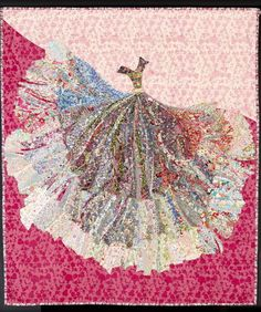 Tribute to Dior, Homage to Liberty. Made by Sophie