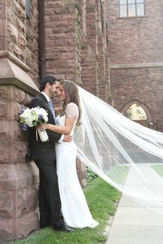 108 inch classic, simple, plain, sheer, cathedral veil, single tier, wedding veil, bridal veil, diamond white, light ivory, blush veil by BridalsByTeri on Etsy https://www.etsy.com/uk/listing/62648040/108-inch-classic-simple-plain-sheer