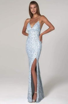 Form Fitting Prom Dresses, Long Tight Prom Dresses, Baby Blue Prom Dresses, Sparkly Prom Dresses, Senior Prom Dresses, Fitted Prom Dresses, Pretty Prom Dresses, Prom Outfits, Mermaid Prom Dresses