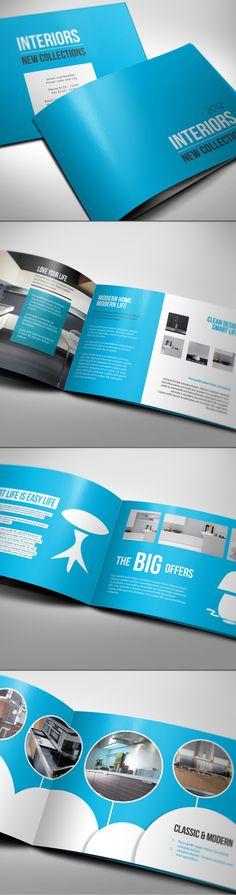 12 Folders e Flyers Super Inspirativos! | Des1gn ON - Blog de Design e Inspiração.