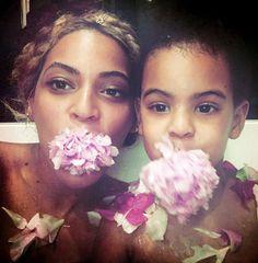 Beyoncé & Blue Ivy Carter May 2016