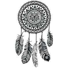 dreamcatcher temporary tattoo - Dream Catcher Coloring Pages