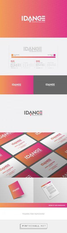 IDANCE Intercultural Dance Center on Behance - created via https://pinthemall.net