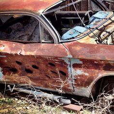 Abandoned Corvair