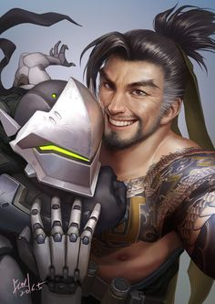 Yeah, the game itself has only just been released, but thanks to betas and marketing people have been getting to know the cast of Overwatch for months. Among those fans are some of the world's best artists, many of whom we've featured here on Fine Art before.