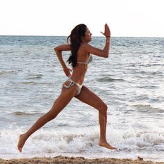 A bikini prototype pushes the limits of bikini ergonomics, turning the swimwear into a cleaning agent when a wearer swims around in the ocean.