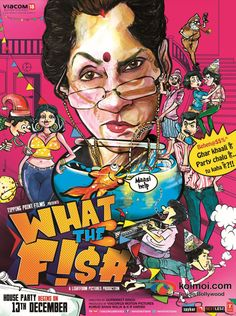 #MovieReview: #WhatTheFish  #WTF #DimpleKapadia #Bollywood