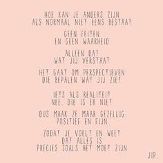 Quote, wijsheid, tekstje over de liefde van Gewoon JIP.
