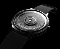 An elegant watch that is show-off sexy. #watch #timepiece #YankoDesign