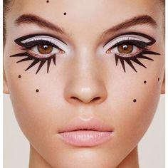 24 New Ideas diy makeup recipes eyeliner make up Makeup Inspo, Makeup Art, Makeup Inspiration, Makeup Tips, Hair Makeup, Makeup Ideas, Skull Makeup, Zebra Makeup, 80s Makeup