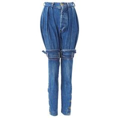 Sorry...these are just plain weird! Ronald Sassoon Pirate Jeans, $385, now featured on Fab.