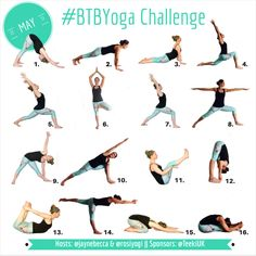 #BTBYoga Challenge