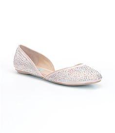 Blue by Betsey Johnson Jane d´Orsay Flats | Dillards.com