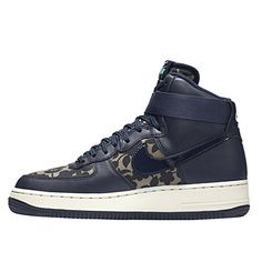 official photos 53a9f 554ef Scarpe da Basket - Nike Donna WMNS Air Force 1HI LIB QS - scarpe sportive  Marrone - 38