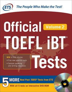 Official toefl ibt tests with audio education pinterest official toefl ibt tests with audio by ets fandeluxe Images