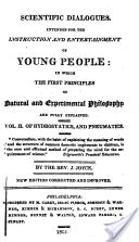 """""""Of Hydrostatics, and Pneumatics"""" - Jeremiah Joyce, 1815"""