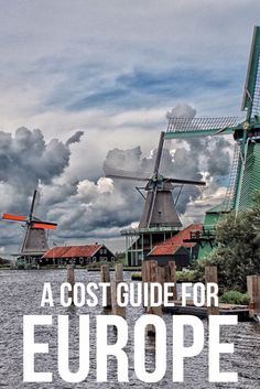 How much does it cost to travel around Eastern and Western Europe? Broken all down for you here.