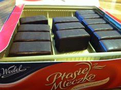 Wedel chocolate covered marshmallow - Ptasie Mleczko