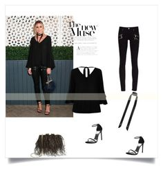 Olivia Palermo by gabriela2105 on Polyvore featuring moda, River Island, Kate Spade and Stuart Weitzman