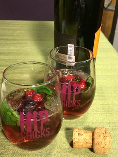 Riot Girl Cranberry Sparkler   Ramblings of a Wine Goddess