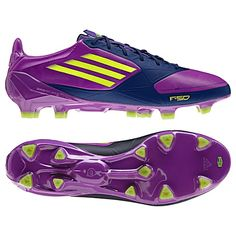 F50 Adizero Soccer cleats by Adidas- the world's lightest cleats. My daughter would love these but boy, are they expensive!