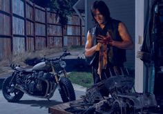 The Walking Dead(AMC): Daryl and his Bike