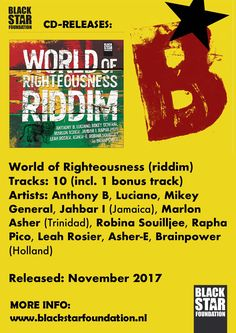 World of Righteousness riddim