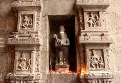 This is called the Annamalaiyar Temple and is dedicated to Lord Shiva. Main Entrance Door, The Holy Mountain, Sitting Posture, Morning View, Man Sitting, Place Of Worship, Wall Sculptures, Deities, Shiva