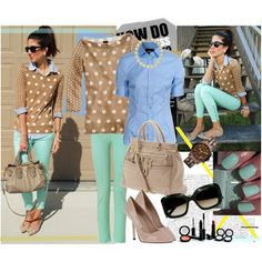 Fashion Combinations in Mint Green