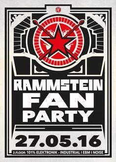 Freitag, 27.05.16 - http://darkflower.club/blog/events/rammstein-fan-party-101-elektronik