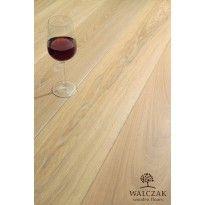 Deska Podłogowa Lita Dąb Walczak 15,5 x 120 x 560 - 1810 mm Olej Biały transparentny
