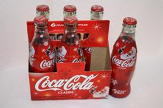 Coca Cola 2002 Holiday Santa 6 pack FULL $12.50 Coca Cola Bottles, Bottles For Sale, Polar Bears, Some Recipe, 6 Packs, Coke, Appreciation, Holiday, Christmas