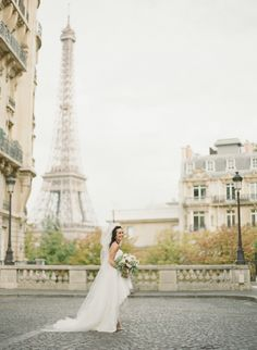 """Around the World in 25 Wedding Dresses.  We're pairing famous cities with gorgeous wedding dresses that embody each locale's unique personality to determine where in the world brides and grooms should say """"I do."""""""