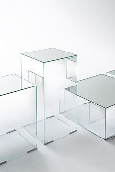 Coffee tables | Tables | Illusion | Glas Italia | Jean-Marie. Check it out on Architonic