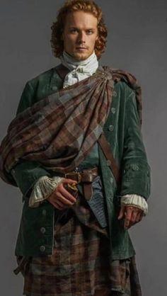 Outlander Season 1, Outlander Series, Sam Heughan Outlander, Jamie Fraser, Armors, Costume Design, Seasons, Costumes, Clothes