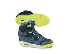 """""""my spring heels!""""  Air Revolution Sky Hi - New Wedges By Nike"""
