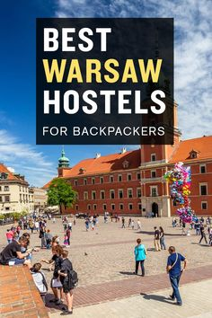 Looking for a cheap place to stay in Warsaw? Check out our list of the best hostels in Warsaw, Poland. European Destination, European Travel, Warsaw Hotel, Guadalupe Mountains National Park, Poland Travel, Warsaw Poland, Travel Guides, Travel Tips, Backpacking Europe