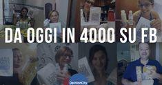 La nostra community che conta oltre 10.000 iscritti in tutta Italia, da oggi raggiunge i 4000 follower su facebook. Grazie, continuiamo così! Tutti insieme  Lo staff di OpinionCity. Da oggi in 4000 su Facebook. Grazie!!!! ultima modifica: 2018-02-22T15:40:50 00:00 da Marcello De Stefano