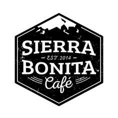 Logo for Sierra Bonita Café by Lucia Sancho