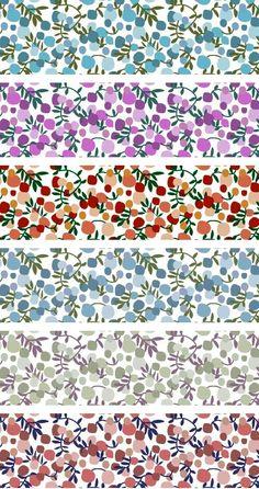 Liberty Fabric, love this print! Liberty Print, Liberty Fabric, Paper Art, Paper Crafts, Ideias Diy, Web Design, Pretty Patterns, Grafik Design, Printable Paper
