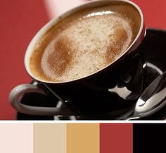 use to have an apartment decorated with these colors